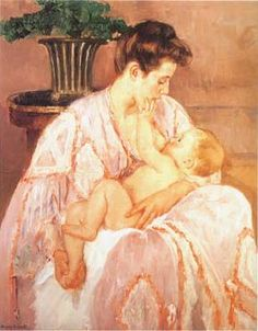 Mary Cassatt...the master of mother and child.  Every painting of hers makes me thankful to be a mom.