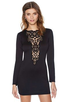 Dream Springs Dress - Black |  Nasty Gal