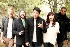 My current obsession, Pentatonix! I don't think words can describe how much I love them