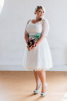 Hochzeit kleid xl