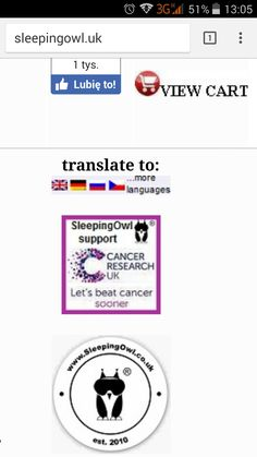 We want to proudly inform, that from today you can browse the page SleepingOwl in 64 languages, choose your own language (top of the page on the right side) http://www.sleepingowl.uk