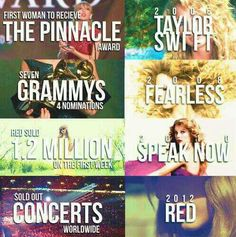 Red was also the #2 bestselling album of 2012, which is amazing, seeing as it only came out in October '12.