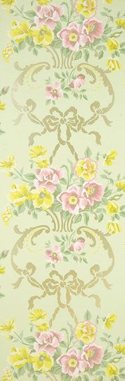 Designers Guild Rosemoor Wallpaper in Pistachio