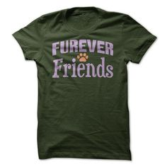 Furever Friends - Dark Version - #tshirt painting #sweatshirt tunic. LOWEST SHIPPING => https://www.sunfrog.com/Pets/Furever-Friends--Dark-Version.html?68278
