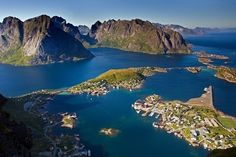 Place to See Before You Die: Hamnøy, Moskenes, Norway. #destination #unspoilednature