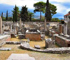 solin roman ruins, Croatia