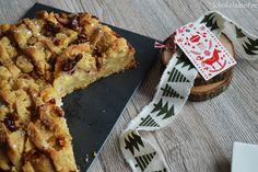 Apple Pie mit Walnüssen und Cranberries