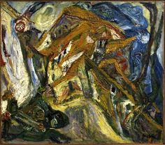 """bofransson: """"Chaïm Soutine (French, 1893-1943) Village Square, Céret, ca. 1921–22 """""""
