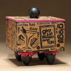 Box Girlfriends BFF Best Friends Box by TattooDreams on Etsy, $48.00