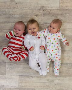 Baby Unisex Bright Balloons Sleepsuits - 3 Pack