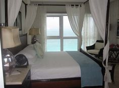 The view from the bed is incredible! Seven Stars Resort in Turks & Caicos