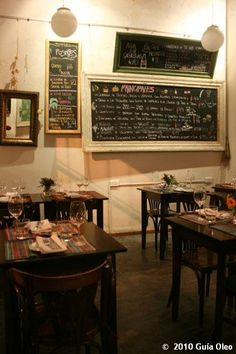 La Pizarras Bistro - Palermo Soho, Buenos Aires. For me - the best wee restaurant in BA.