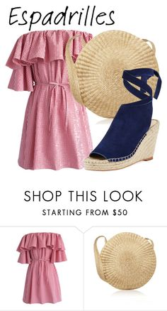 """Espadrilles #2"" by ponelu ❤ liked on Polyvore featuring Chicwish and Loeffler Randall"