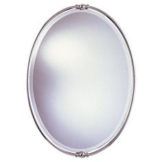 Murray Feiss MR1044PN New London Decorative Mirror, Polished Nickel Functional and Stylish Mirror. Contemporary and Traditional Applications. Lifestyle, Metropolitan. A Stylish Contemporary Combination. Decorative Curves with Knobs at Top and Bottom.  #Murray_Feiss #Home_Improvement
