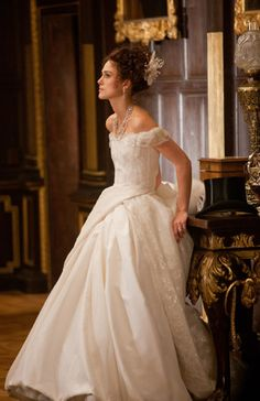 Anna Karenina movie costumes, white dress!