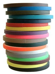 Spike Tape - pink, purple, teal, white, gray, blue, yellow