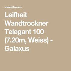 Leifheit Wandtrockner Telegant 100 (7.20m, Weiss) - Galaxus