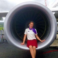 Virgin Australia Stewardess @kirstenhames
