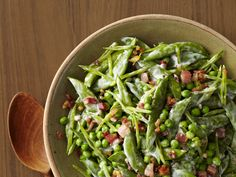 Creamy Spring Peas With Pancetta Recipe : Food Network Kitchen : Food Network - FoodNetwork.com