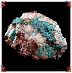 Specimen of Natural Bisbee Turquoise in Quartz from the Durango Silver Company collection.