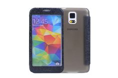 Translucent Full-window View Flip Leather Protector Cases for Samsung Galaxy S5 | Lagoo Tech