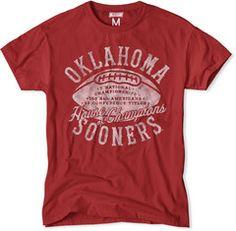 Oklahoma Sooners House of Champions T-Shirt
