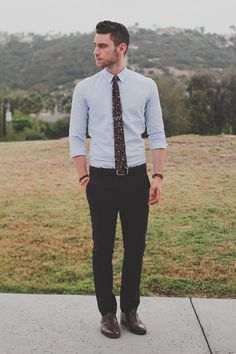 dapper men's office look - fall #fashion