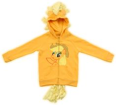 Commemorate your favorite cult classic with an awesome My Little Pony Hoodie Applejack Girls Orange Costume Sweatshirt . Free shipping on My Little Pony orders over $50.