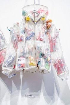 novelty jacket, bomber jacket, sheer jacket, novelty
