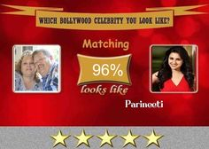 Check my results of Which Bollywood Celebrity you look like? Facebook Fun App by clicking Visit Site button