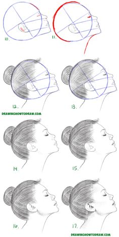 face drawing tutorial step by step * face drawing ; face drawing tutorial step by step ; face drawing tutorial for beginners Drawing Lessons, Drawing Techniques, Drawing Process, Learn Drawing, Drawing Tricks, Basic Drawing, Figure Drawing, Art Drawings Sketches Simple, Pencil Art Drawings