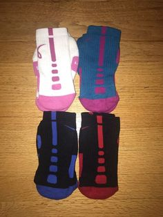 36e02a7c5ace Lot 4 bulk rare NIKE ELITE Size Small CREW SOCKS black white pink blue red   fashion  clothing  shoes  accessories  mensaccessories   othermensaccessories ...