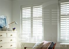 While it's solid wood material brings all the benefits of timber, the Basswood range is made with light, easy to lift, mount and work with basswood - and a breeze to transport to your customers home too. Old Shutters Decor, Bay Window Shutters, Kitchen Shutters, Farmhouse Shutters, Shutter Decor, Repurposed Shutters, Contemporary Shutters, Old Window Frames, Plumbing Pipe Furniture