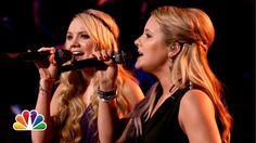 "Amber Carrington and Danielle Bradbery: ""Eternal Flame"" - The Voice Highlight"