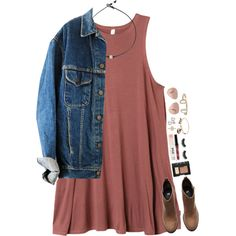 A fashion look from January 2017 featuring RVCA dresses, H&M ankle booties and Alex and Ani bracelets. Browse and shop related looks.