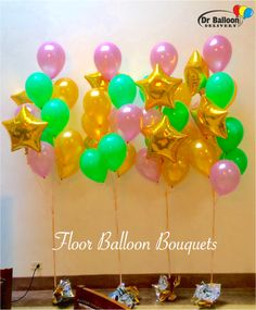 Los Angeles In LA Balloons Bouquets Decorations Arrangements Party Birthday CA