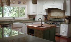 Superior Oak Butcherblock Island Countertop By Grothouse   Traditional   Kitchen  Countertops   Sacramento   By The Grothouse Lumber Company