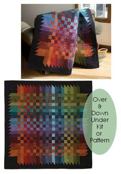Use pattern idea to create a plaid pattern with inches