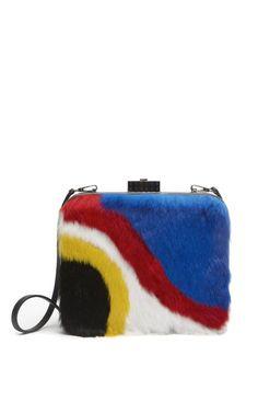 Les Petits Joueurs  Petite Diana Fur Handbag by Les Petits Joueurs for Preorder on Moda Operandi