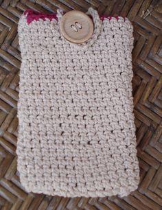 Θήκη πλεκτή για κινητό σπάγγο. Straw Bag, Crochet, Handmade, Bags, Fashion, Handbags, Moda, Hand Made, Fashion Styles