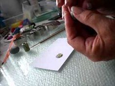 How to make large holed tube beads from polymer clay. Nice simple technique by Anita Dickson from Lillydee Jewellery.