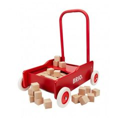 | Walking Trolley and Little Blocks  Brio |