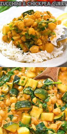 Tasty Vegetarian Recipes, Vegan Dinner Recipes, Vegan Dinners, Indian Food Recipes, Whole Food Recipes, Cooking Recipes, Healthy Recipes, Vegetarian Recipes With Chickpeas, Simple Delicious Recipes