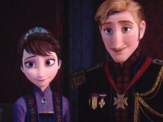 The King and Queen of Arendelle