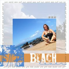 ~beach lover~ - Digital Scrapbooking Ideas - DesignerDigitals