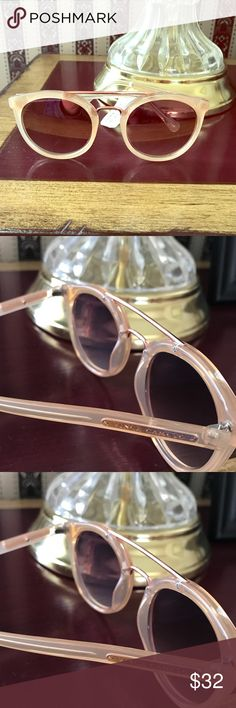 Vince Camuto sunglasses Beige round frame sunglasses Vince Camuto Accessories Sunglasses