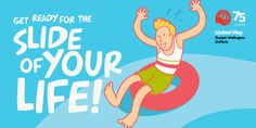 Water-slide through the streets of Guelph - and support United Way too!