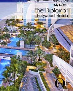 Located in Hollywood, Florida, is the Westin Diplomat - a huge hotel with 1000+ rooms. The rooms are wonderful, the beach is fantastic (nice and quiet), and the nearby area has everything one could possibly need!