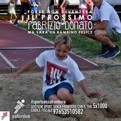 @Regrann from @ssfonlus -  Cosa rende un bambino davvero felice? Muoversi divertirsi giocare insieme. Crescere un passo per volta facendo sport con tanti nuovi amici lontano dalla strada per avere una vita sana e un futuro sereno.  Sostenere i nostri bambini non ti costerà nulla. Basta solo una firma. Dona il tuo 51000 a Sport Senza Frontiere: codice fiscale 97653510582.  #SportSenzaFrontiere #campione #campioni #forzaragazzi #orgoglio #vincere #nazionale #nazionaleitaliana #forzaazzurri…