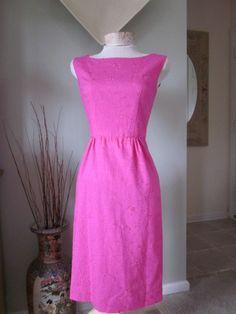 Timeless Light Teal Eyelet 60s Style Wiggle Dress by TenderLane, $120.00